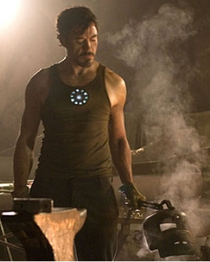 Robert Downey as Tony Stark (aka Iron Man)