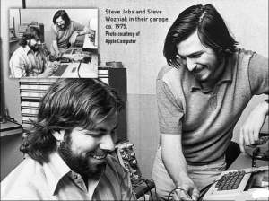 Jobs and Wozniak in 1975